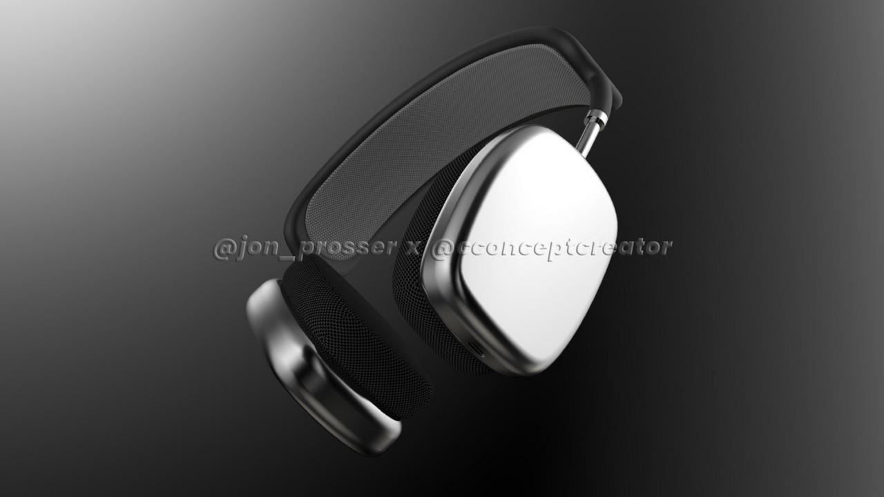 Aqui está sua primeira olhada em Applepróximos fones de ouvido sem fio AirPods Studio 2