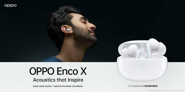 OPPO Enco X está vindo para a Índia junto com o Reno5 Pro 5G em 18 de janeiro 1