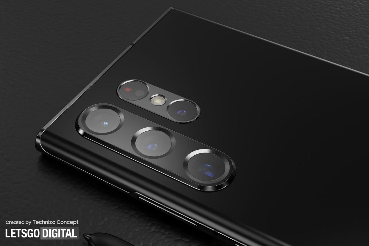 Samsung Galaxy S22 Ultra vaza em novos renderizadores CAD 1